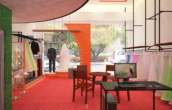 Thiết Kế Showroom Váy Cưới Thời Trang Ở Thành Phố Hồ Chí Minh