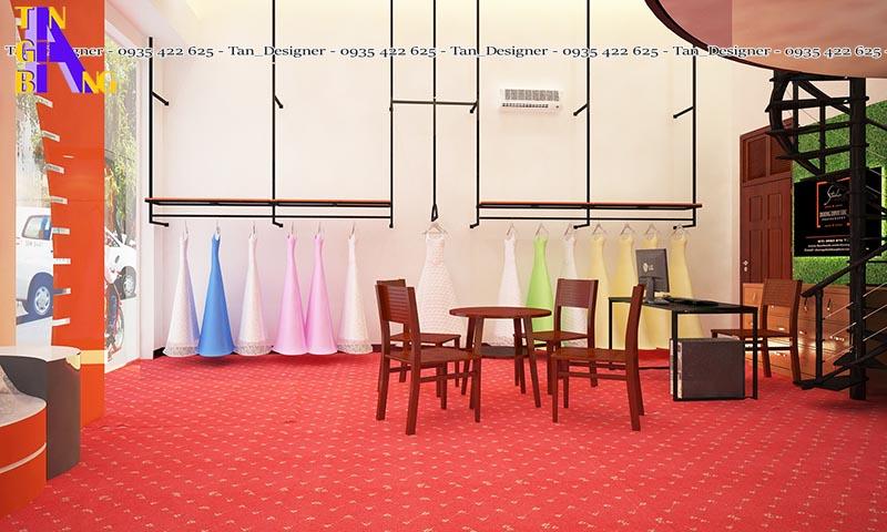 Thiết kế shop thời trang áo cưới ở tpHCM