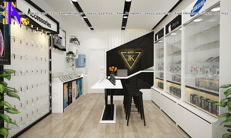 Thiết kế shop điện thoại đẹp ở Tân Bình thành phố Hồ Chí Minh