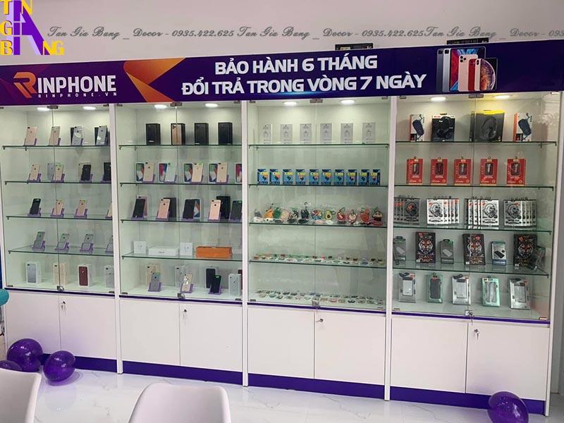 Thiết kế shop điện thoại ở Bình Định