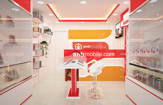 Thiết Kế Cải Tạo Shop Điện Thoại Ở Thành Phố Hồ Chí Minh