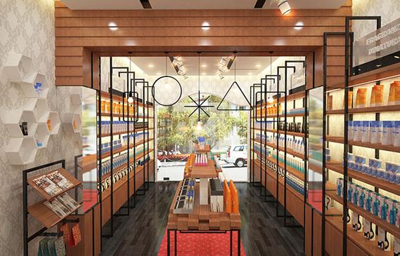Thiết Kế Cải Tạo Shop Mỹ Phẩm Giá Rẻ Ở Thành Phố Hồ Chí Minh