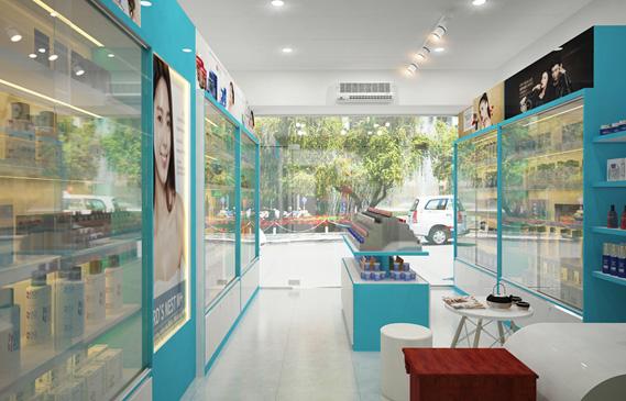 Thiết Kế Shop Mỹ Phẩm Ở Hóc Môn Thành Phố Hồ Chí Minh