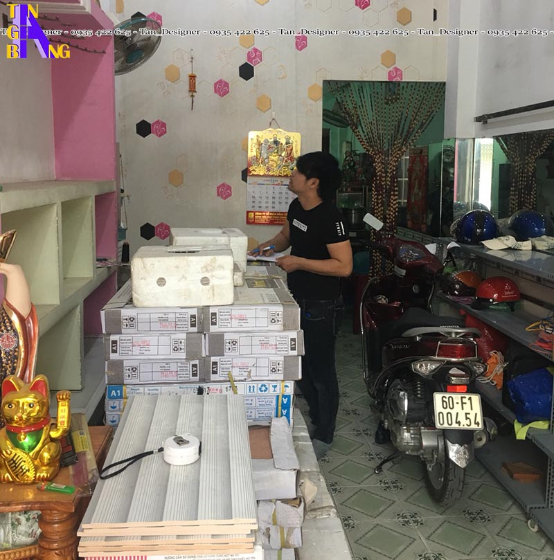 Thiết kế shop mỹ phẩm ở Đồng Nai
