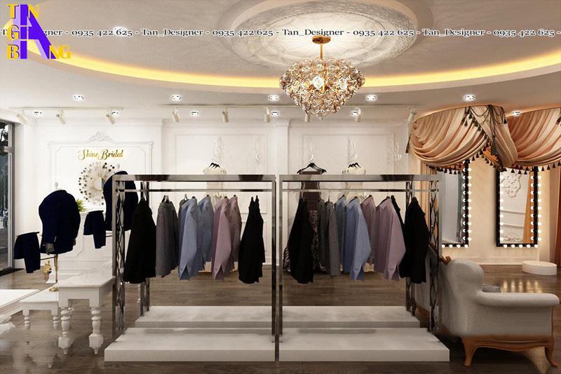 Thiết kế shop thời trang - showroom áo cưới ở thành phố hồ chí minh
