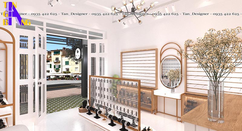 Thiết kế shop thời trang đẹp ở thành phố Hồ Chí Minh
