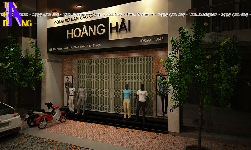 Thiết kế shop thời trang ở tp phan thiết tỉnh bình thuận
