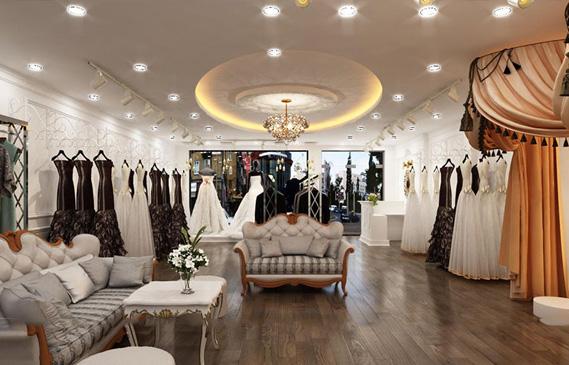 Thiết Kế Showroom Áo Cưới Ở Thành Phố Hồ Chí Minh