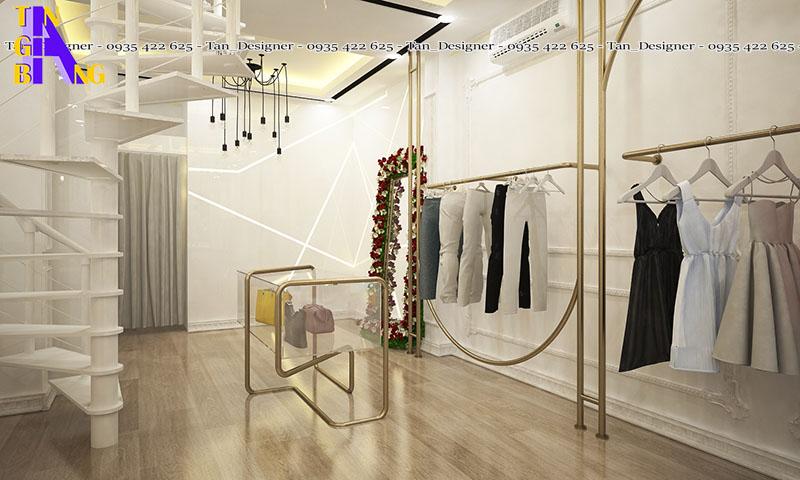 Thiết kế shop thời trang đẹp ở tại TpHCM