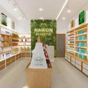 Thiết Kế Shop Mỹ Phẩm Nawon