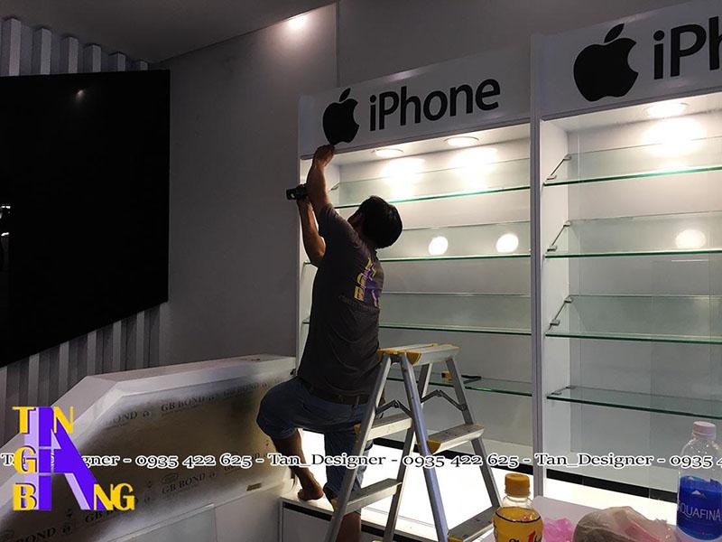 thi công shop điện thoại đẹp ở Tân Bình - Tp. Hồ Chí Minh