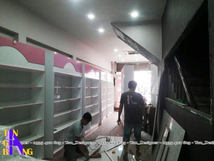 Thi Công Shop Mỹ Phẩm Ở Thành Phố Hồ Chí Minh