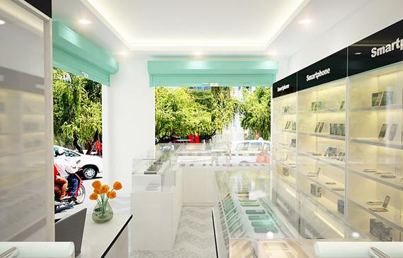 Thiết Kế Shop Điện Thoại Viettel