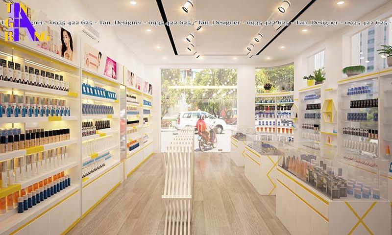 thiết kế shop mỹ phẩm đẹp ở thành phố Hồ Chí Minh