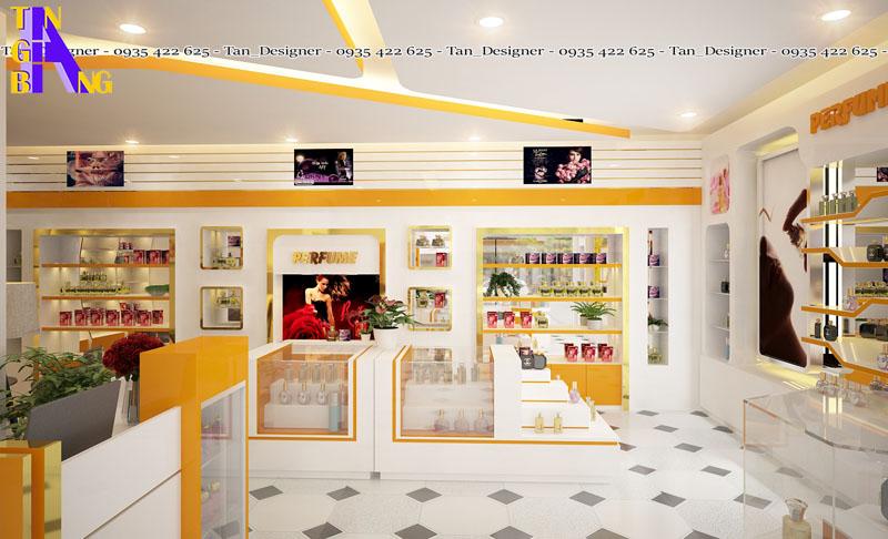 thiết kế shop mỹ phẩm đẹp và phong cách ở thành phố Hồ Chí Minh