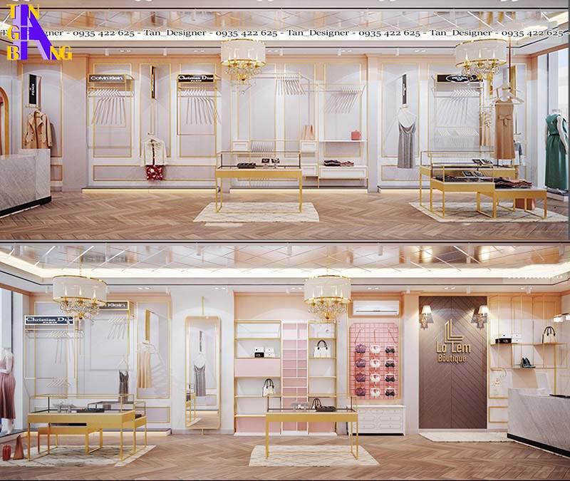 Thiết kế shop thời trang Lọ Lem ở thành phố Hồ Chí Minh
