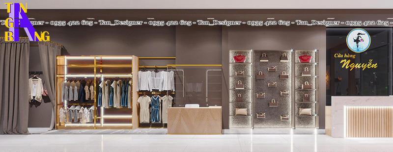 Thiết kế shop thời trang tại Bình Dương