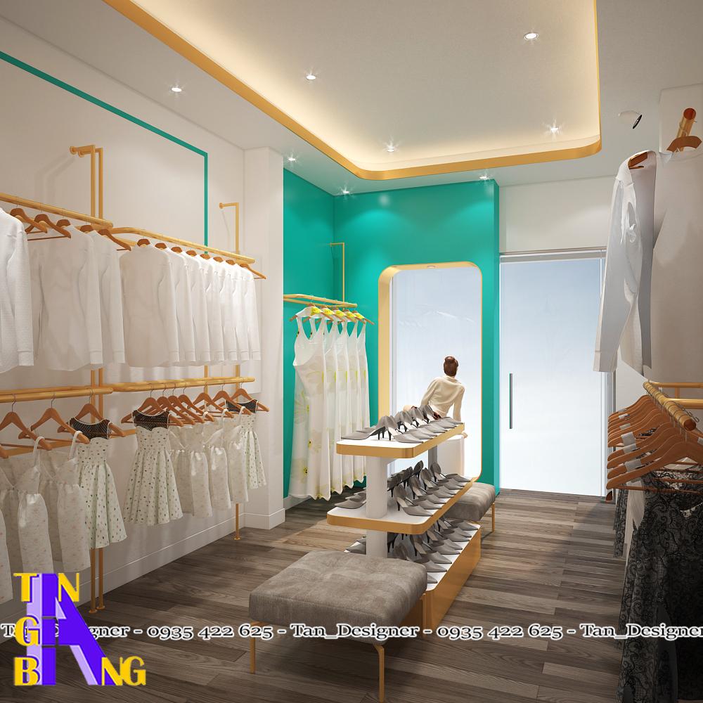 Thi công shop thời trang ở tphcm