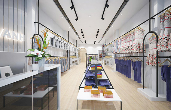 Thiết Kế Thi Công Shop Thời Trang Hồng Anh Ở Khánh Hòa