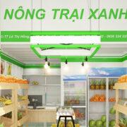 Thiết Kế Cửa Hàng Hoa Quả Ở Thành Phố Hồ Chí Minh