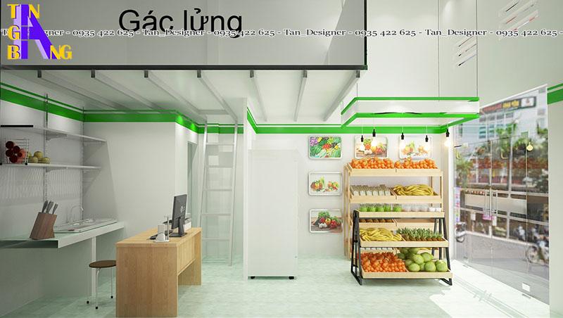 Thiết kế cửa hàng thực phẩm ở Tp HCM