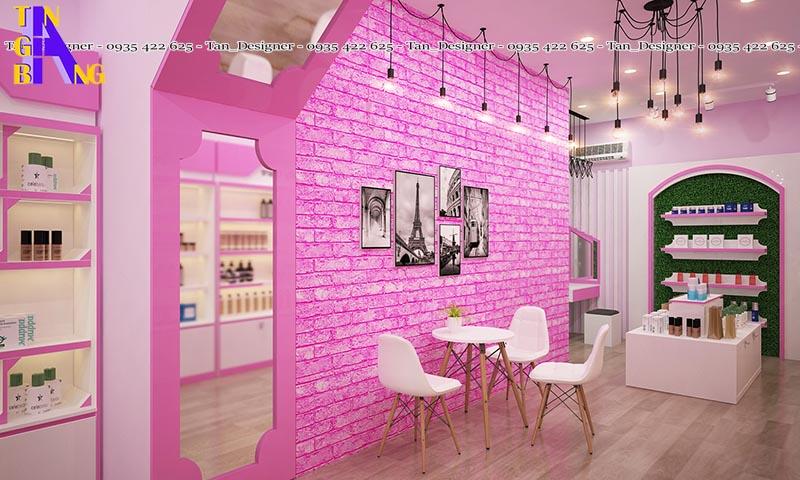 Thiết kế shop mỹ phẩm ở tại Tp.HCM
