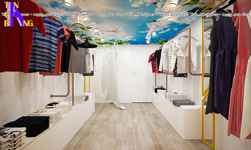 Thiết kế shop thời trang ở tại TpHCM