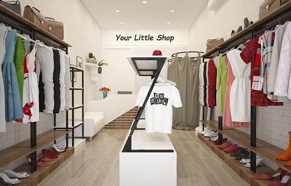 Bí Quyết Thiết Kế Shop Thời Trang Chuyên Nghiệp