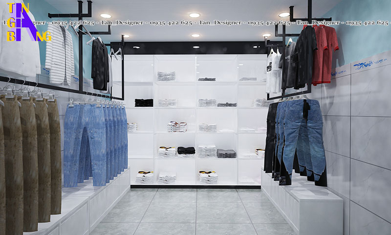 Thiết kế shop thời trang king queen ở Đồng Tháp