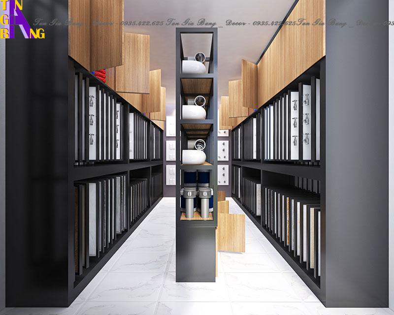Thiết kế cửa hàng điện gia dụng ở TpHCM