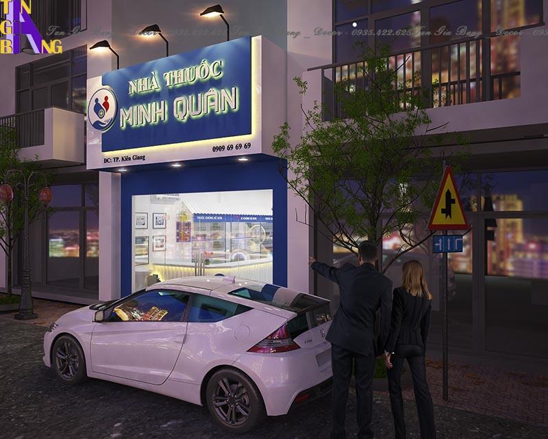 Thiết kế nhà thuốc chuẩn GPP ở Kiên Giang