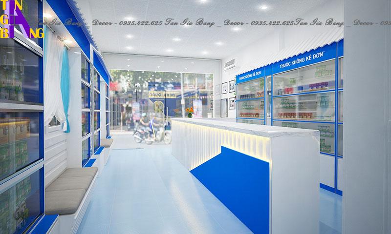Nhà thuốc chuẩn GPP ở Kiên Giang - thiết kế shop đẹp, giá rẻ