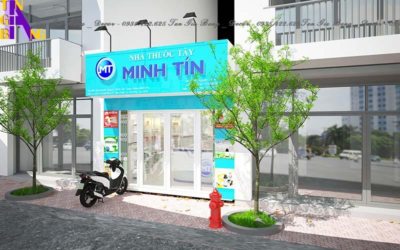 Thiết kế nhà thuốc ở Nha Trang
