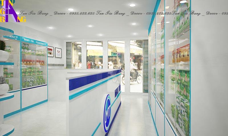 Thiết kế nhà thuốc tây chuẩn GPP ở Nha Trang