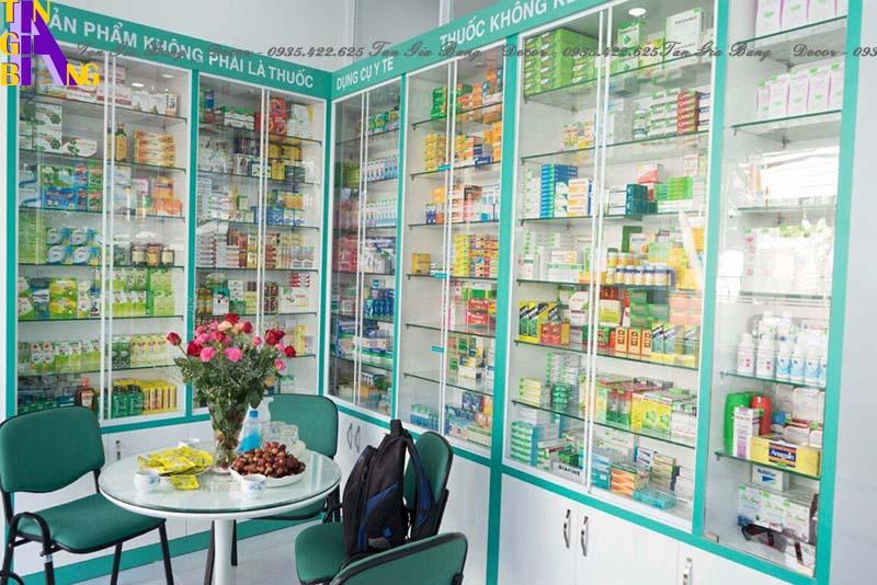 Thiết kế nhà thuốc Hoàng Vân chuẩn GPP ở TpHCM