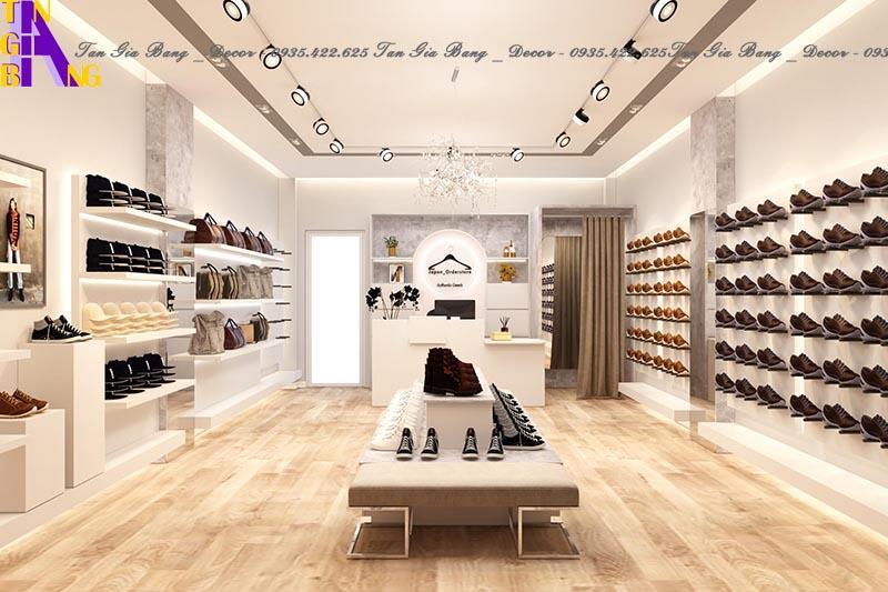 Thiết kế shop thời trang giày JAPAN ORDERSTORE ở Sài Gòn