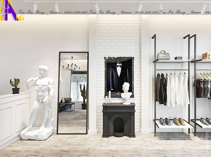 Thiết kế shop thời trang đẹp, giá rẻ ở Sài Gòn