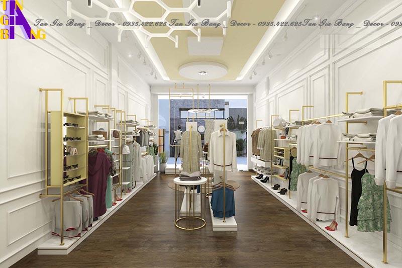 Thiết kế shop thời trang đẹp, giá rẻ ở TpHCM