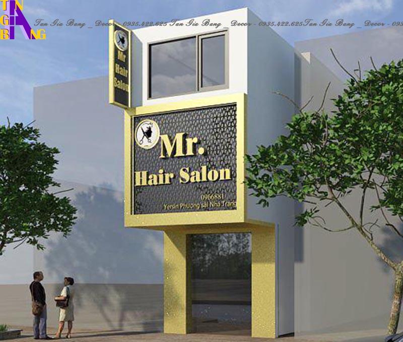 Thiết kế salon tóc chuyên nghiệp ở Nha Trang
