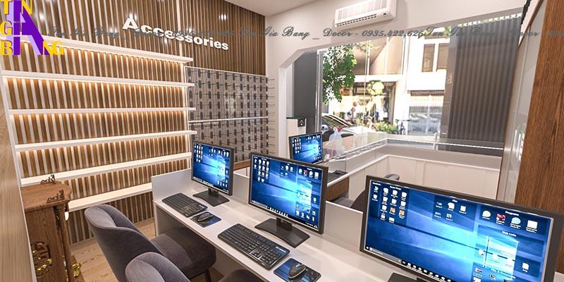 Thiết kế shop điện thoại ở Cam Lâm