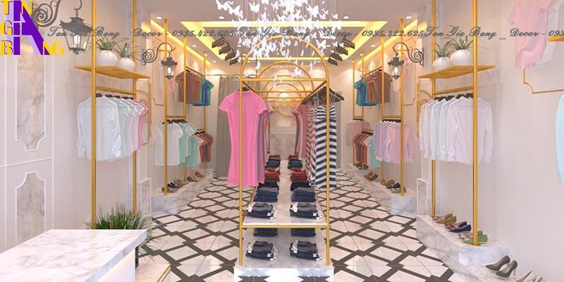 Thiết kế shop thời trang ở Cam Lâm - Khánh Hòa