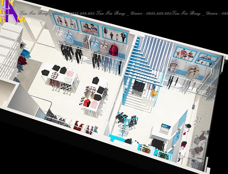 Thiết kế shop thời trang đẹp ở Đà Nẵng