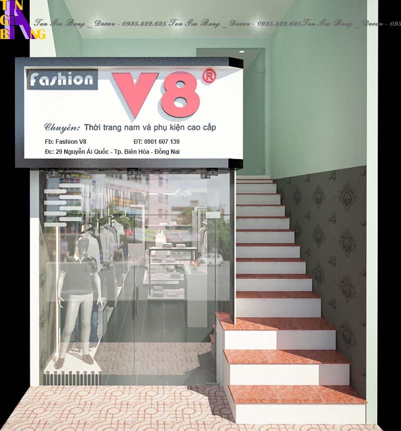 Thiết kế shop thời trang ở Đồng Nai