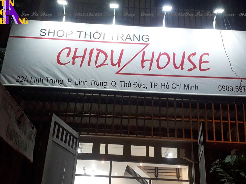 Thiết kế shop thời trang ở Tp.HCM