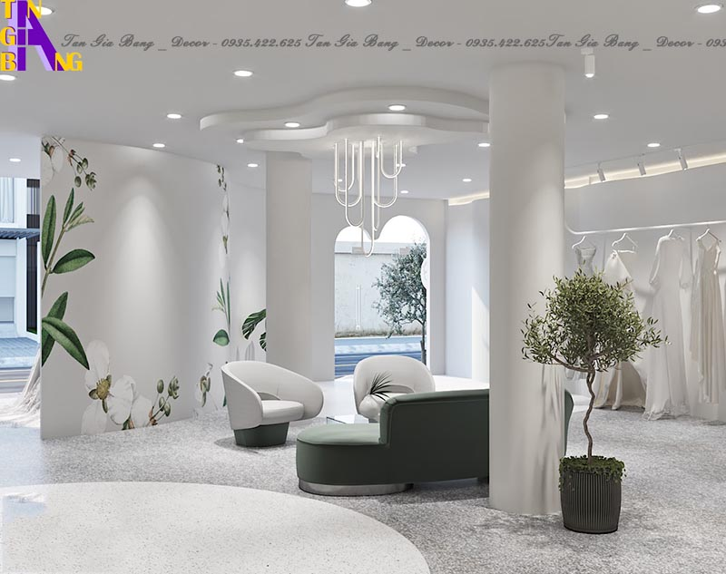 Thiết kế studio áo cưới ở Nha Trang Khánh Hòa