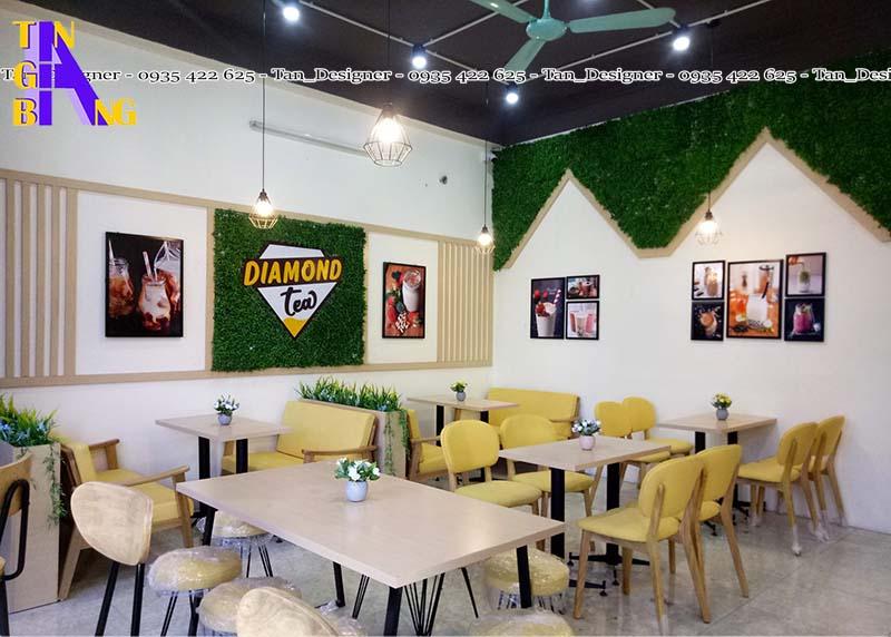 Thiết kế quán trà sữa ở tphcm - Thành phố Hồ Chí Minh