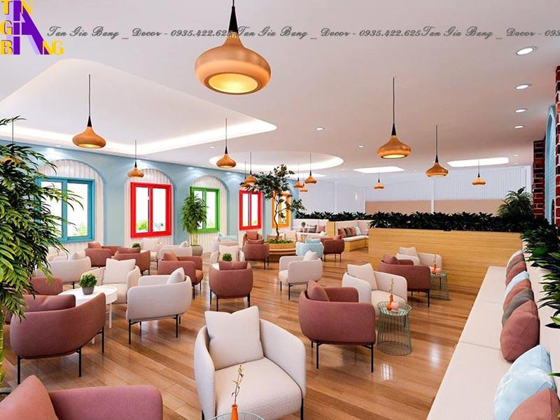 Thiết kế quán trà sữa chuyên nghiệp và đẹp ở TpHCM