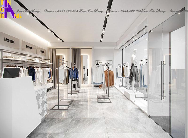 Thiết kế shop/cửa hàng thời trang ở TP Thủ Đức