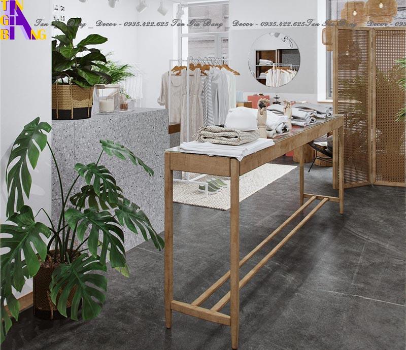 Thiết kế cửa hàng thời trang ở Thủ Đức