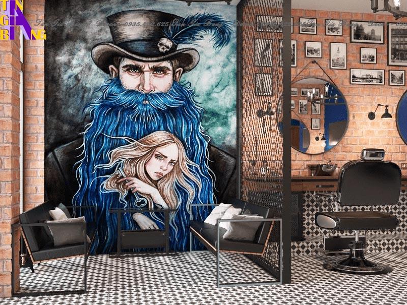 Thiết kế salon tóc ở TP Thủ Đức - Salon OLD MAN